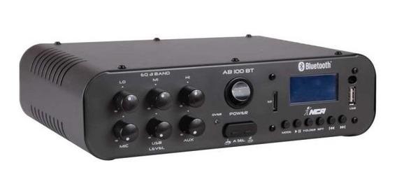 Amplificador Nca Sa100bt Estéreo Som Ambiente 100 Watts