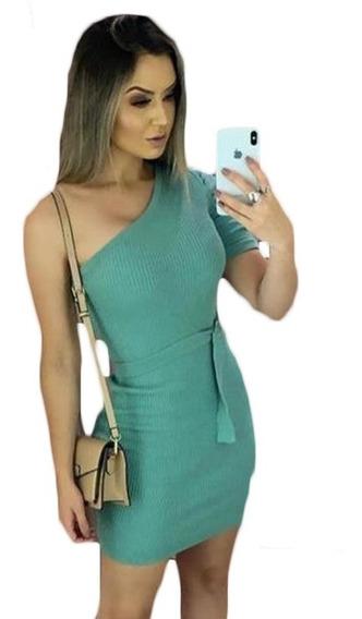Vestido Curto Mula Manca Manga Moda Blogueiras Modal Verão