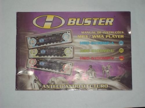 Manual De Instruções Toca Cd Buster 6100 Mpa