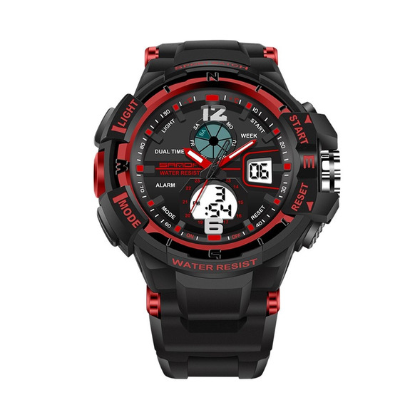 Sanda 289 À Prova D'água Relógio Esportivo Unisex Multif