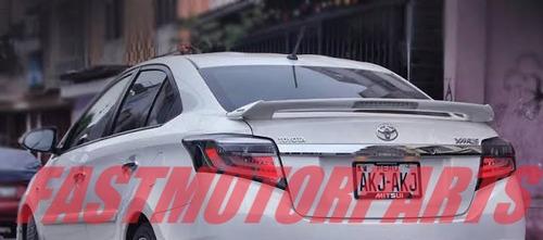 Spoiler Aleron Toyota Yaris Trd 2014 2017 Cola De Pato