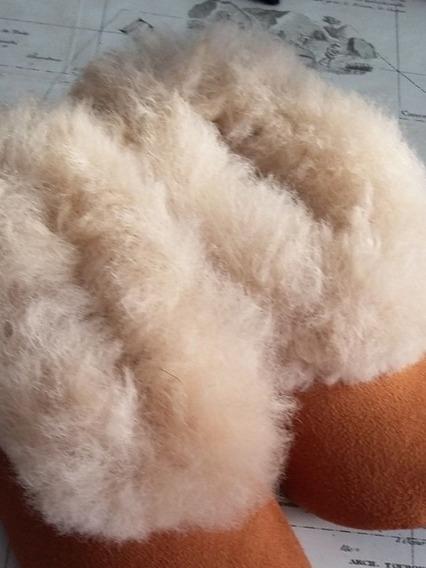 Babuchas, Pantuncha De Alpaca