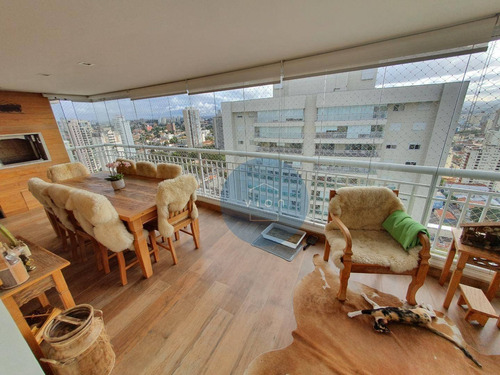 Apartamento 4 Dormitórios, Sendo 3 Suítes E 3 Vagas Na Vila Romana - Ap0164