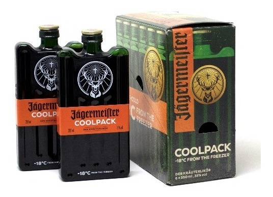 Jägermeister Cool Pack X 6 Unidades - Envío Gratis