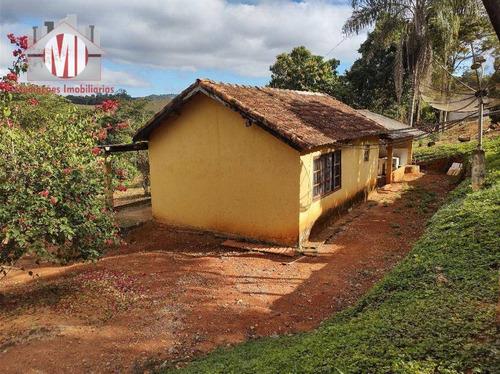 Imagem 1 de 30 de Ótima Chácara Com 1 Dormitório, Edícula, Pomar, Bem Localizado, À Venda, 2800 M² Por R$ 170.000 - Zona Rural - Tuiuti/sp - Ch0985