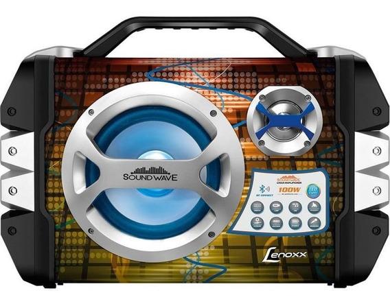 Caixa Portátil Lenoxx Ca325 Sound Wave 100w Com Microfone