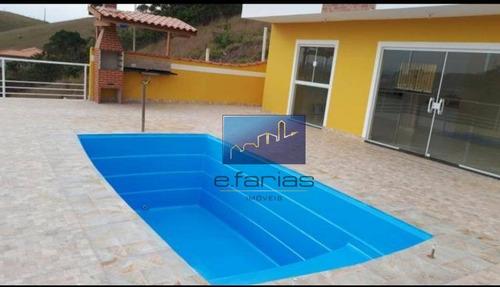 Chácara Com 3 Dormitórios À Venda, 1100 M² Por R$ 580.000,00 - Paraíso De Igaratá - Igaratá/sp - Ch0010