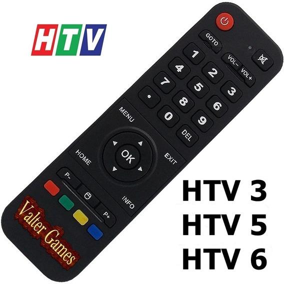 Controle De Reposição Htv Smart Box 3 5 6 Testado