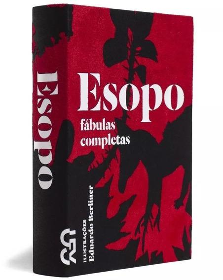 Livro Esopo Fábulas Completas Cosac Naify Capa De Veludo