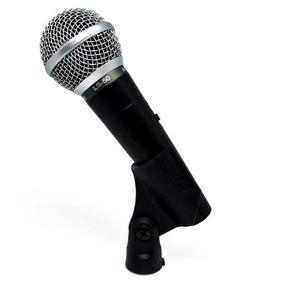 Microfone De Mão Com Fio Leson Ls50