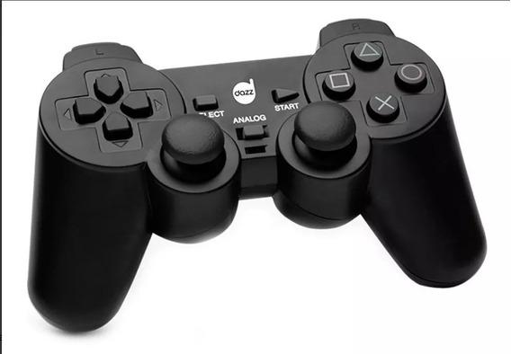 Controle Dazz Dualshock P/ Pc Usb 621322