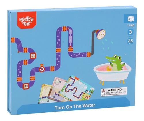 Imagen 1 de 4 de Juego Abran Paso Al Agua Puzzle