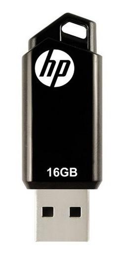 Pendrive Hp V150w De 16gb - Usb 2.0 - Preto