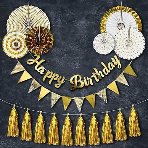 Conjunto De Decoraciones De Fiesta De Cumpleaños De Oror Ba