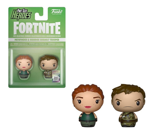 Funko Pint Size Heroes Fortnite Pathfinder & Highrise 2 Pack