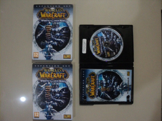 Cd Jogo Pc World Warcraft Wrath Of The Lich King + Expanção