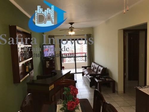 Apartamento Mobiliado No Canto Do Forte, Com 2 Vagas, Apenas 540 Metros Da Praia. Aceita Financiamento E Avalia Proposta Para Pagamento A Vista. Agend - Ap00895 - 68863339