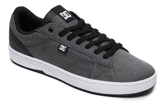 Zapatillas Dc Shoes Mod Astor Tx Gris Canvas! Coleccion 2019
