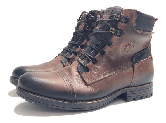 Pegada 180783 Borcego Cuero Cómodo El Mercado De Zapatos!