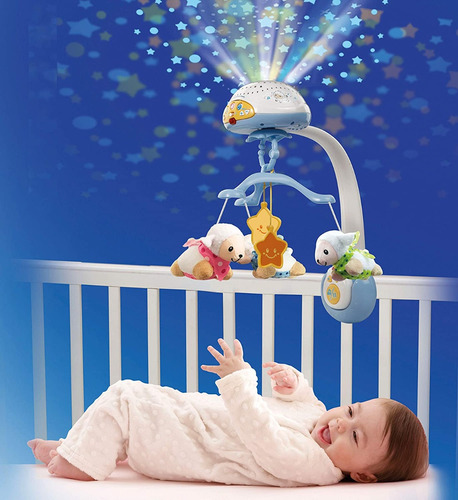 Movil Proyector Musical Dulces Sueños Control Remoto Vtech