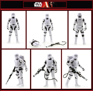 Star Wars Flametrooper 7-pack Tfa Swargento!!