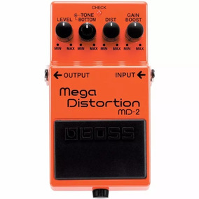 Pedal Boss Md-2 Guitarra Distorção Mega Distortion Md2