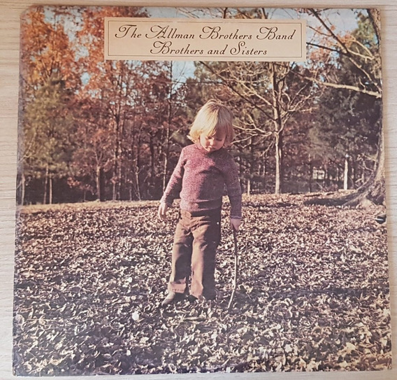 Lp - Allman Brothers Band - Brothes And Sisters - Importado