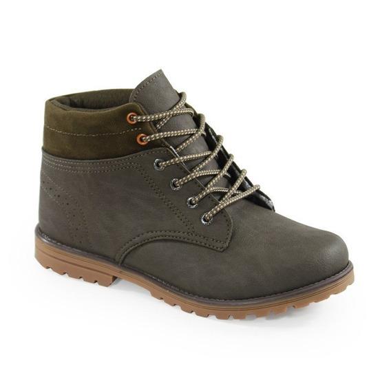 Coturno Kidy Walk Verde Militar - 0860013