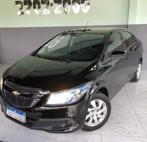Chevrolet Prisma 2016 1.4 Lt 4p Preto Completo Com My Link