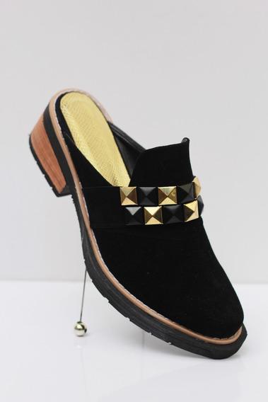 Zapato Zueco Tachas
