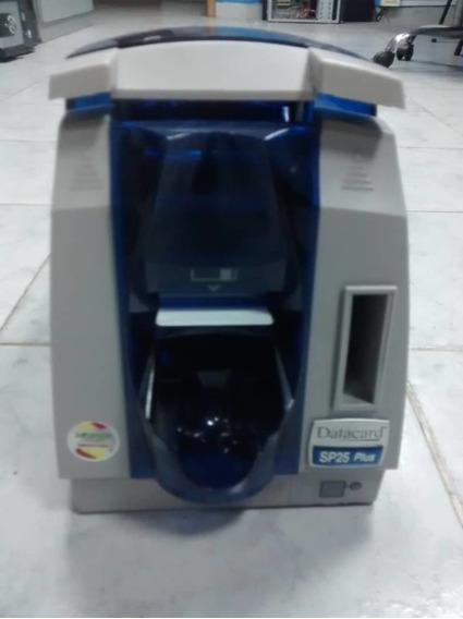 Máquina Impresora De Carnet Pvc Datacard Sp25 Plus