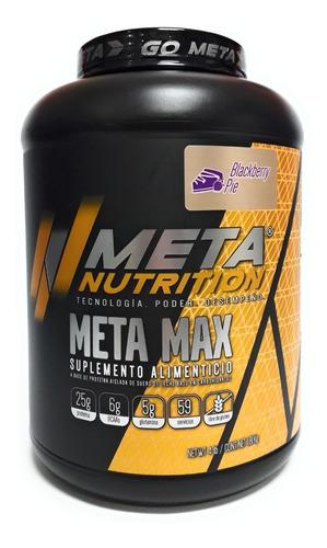 Proteina Meta Max Meta Nutrition 4 Lbs Envio Full (sabores)