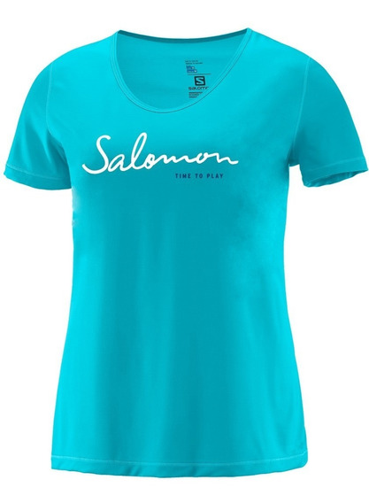 Remera Salomon - Time To Play Ss Tee - Niños
