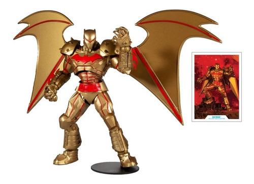 Imagen 1 de 3 de Hellbat Suit Gold Version Dc Multiverse Mcfarlane Toys