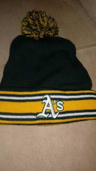 Touca Gorro New Era Oakland Athletics Verde/amarelo