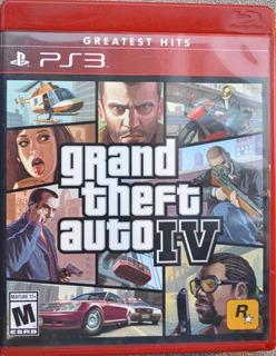 Juego Gta Grand Theft Auto Iv Ps3 Nuevo Original