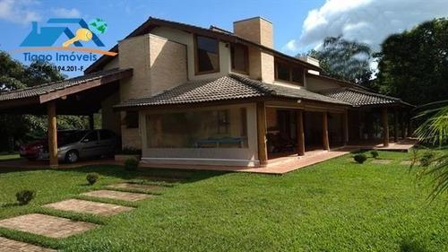 Linda Casa Com Projeto De Arquitetura Exclusivo Em Bom Jesus Dos Perdões! - 238
