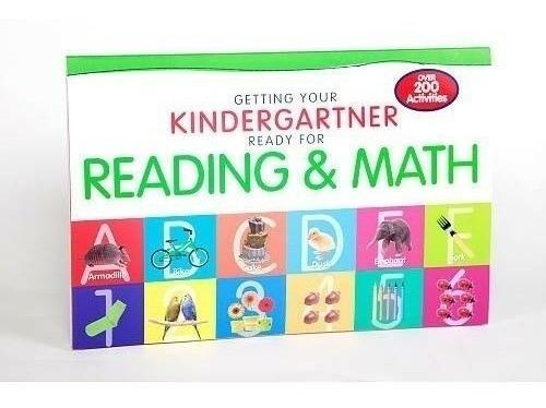 Libro 200 Actividades Preescolar Ingles Reading & Math