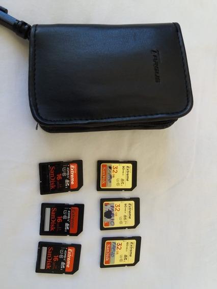 Cartão De Memória Sandisk Extreme 3. 32gb+ 3. 16g+case