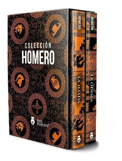 Coleccion Homero La Iliada Y La Odisea ( Box 2 Libros )