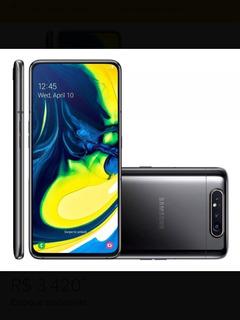 Samsung Galaxy A80 Dual Sim 128 Gb Phantom Black 8 Gb Ram