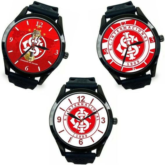 Kit 3 Relógios Pulso Esportivo Internacional Barato Promoção