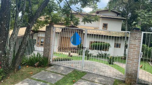 Casa Com 4 Sts C/ Ar Cond., Rústica, Pé Dir. Alto! - Venda R$1.980.000,00 - 3458