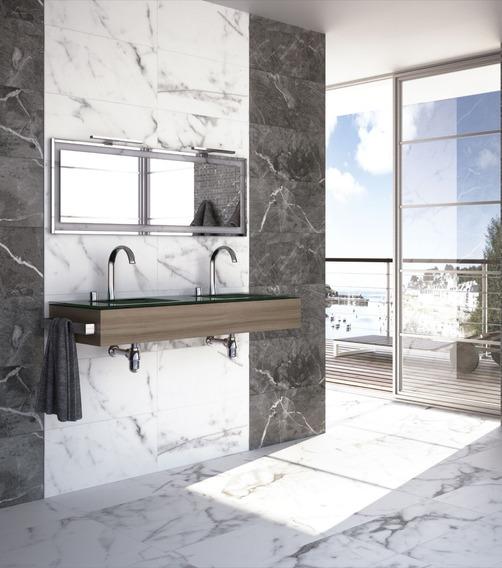 Grand Calacatta | Porcelanato Mármol Rectificado 80x80