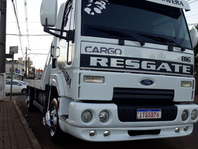 Vendo Ou Troco Cargo 816 Ano 2013 Guincho Plataforma E Asa