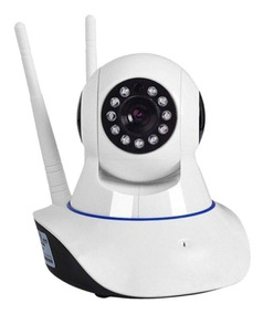 Camera Ip Robo Visao Noturna Wireless Wifi Sem Fio 720hd