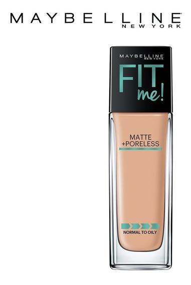 Base Fit Me Maybelline Matte + Poreless 112 - Original