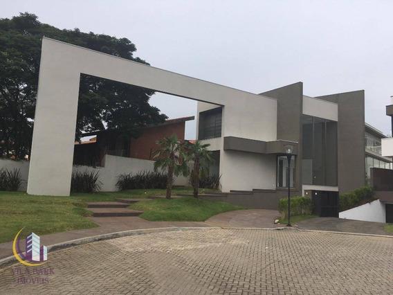 Sobrado 637 M² De Construção, 4 Suítes Com Closet, 8 Vagas, Vila São Francisco. - So0193