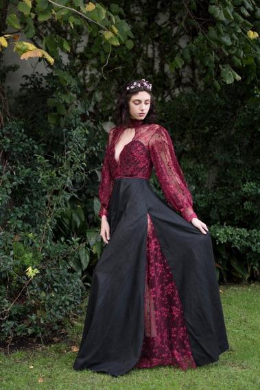 Vestido De Fiesta Alta Costura