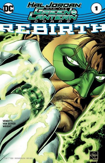 Hal Jordan And The Green Lantern Corps Rebirth #1 (2016) Dc